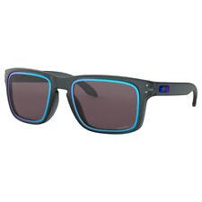 Oakley Holbrook Fire & Ice Sunglasses, 100% UVA & UVB Protection, Matte Black