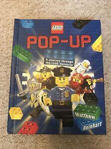 Lego Popup by Matthew Reinhart English Hardcover Book Free Shipping Ninjago City