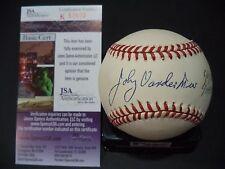 JOHNNY VANDER 6/11/38 6/15/38 SIGNED AUTOGRAPHED N.L. BASEBALL JSA COA #K52602