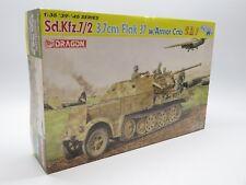 DRAGON 6542 1/35 Sd.Kfz.7/2 3.7cm Flak 37 w/ Armor Cab Smart Kit Nr.2