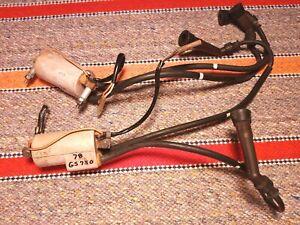 1978 1979 SUZUKI GS750 IGNITION COILS GS 750 WIRES CAPS