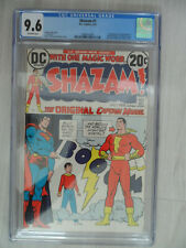 SHAZAM #1 First appearance of CAPTAIN MARVEL in the DC Universe 9.6 NM+ 1973!