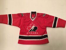 SIDNEY CROSBY Signed 2005 Team Canada World Juniors Mini Hockey Jersey w COA