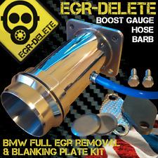 BMW EGR Elimina BLANKING PLATE 2.0 1 3 5 Serie 318d 320d 520 BOOST GAUGE Barb