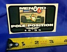 Indy Indianapolis 500 Pole Decal SCOTT BRAYTON COLLECTION 1995 CORVETTE PACECAR