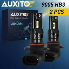 AUXITO Pair 9005 LED Fog Light Bulb Driving DRL 9145 2600LM CSP 6000K HID White