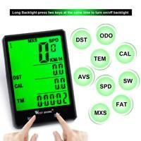 WEST BIKING Bicycle Bike Computer Rainproof Wireless Wired Speedometer Odometer