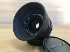 *Exc+4* Olympus OM System Zuiko MC Auto W 35mm F/2.8 Wide Angle Lens From Japan