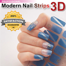 Nail Polish Strips Real Color 3D Decretive Manicure Stickers + Buy 3 Get 2 FREE