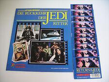 Star Wars ´83 - Return of the Jedi, deutsches Leeralbum + 10 volle Tüten, top !!