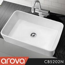 Modern Cermic Counter Top Square Semi-Recessed Basin Bathroom Vanity - CB5202N