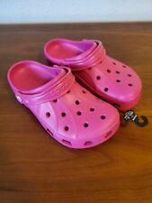 Womens CROCS Ralen Clog Dark Pink Size 7 NEW