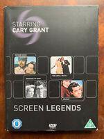 Cast Cary Grant Schermo Legends DVD Box Set Quattro Film Collection