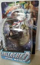 UNLEASHED YODA vs SIDIOUS - Star Wars Figure Statue 2005 - Damaged card