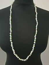 Honora white & multi coloured baroque cultured pearl string necklace 14K clasp