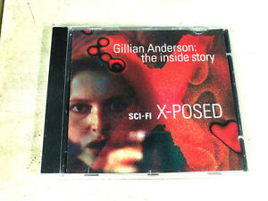 Gillian Anderson: The Inside Story - Sci-Fi X-Posed CD X-Files Scully Exposed