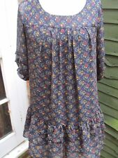 Floral print top by New Look size 12 ....throw on......