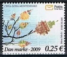 Montenegro postfris 2009 MNH 219 - Dag van de Postzegel