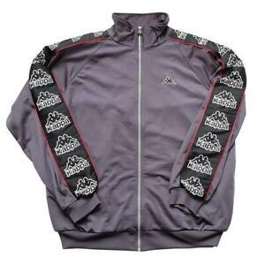 Vintage 90s Kappa Classic BIG Logo Track Jacket - XL