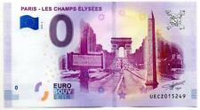 Billet Touristique - 0 Euro - France - Paris - Les Champs Elysées (2018-2)