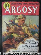 Argosy Jan 25, 1936 Cornell Woolrich