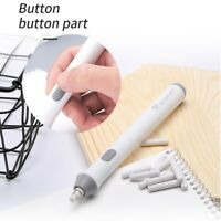 Electric Pencil Eraser w/ 22PCS Rubber Refills Highlights Sketch Drawing Kit
