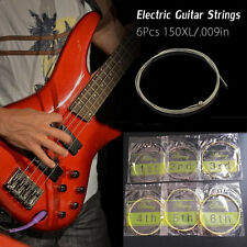6pcs 150XL/.009in Bronze Steel Strings For Acoustic Electric Guitar Set