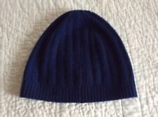 OLD NAVY Navy Blue CASHMERE Blend Beanie Hat Ribbed Mens SOFT /& COZY NEW