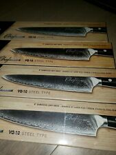 """8"""" Damascus Chef Knife - Japanese 67 Layer High Carbon Stainless Steel Blade"""
