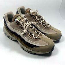 New Nike Air Max 95 Premium suede Shoes Desert Brown Tan 538416-205 Mens Sz 11