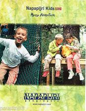 PUBLICITE ADVERTISING  016  2005  Napapijiri Kids vetements enfants  Parco Avent