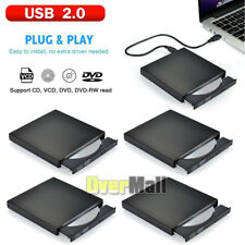 4x Usb 2.0 External Dvd Rom Player Reader Combo Cd±Rw Burner Drive for Laptop Pc