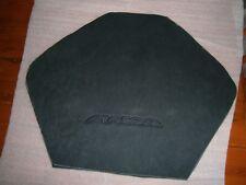 HOLDEN VE HSV  MALOO SEAT TRIM LOGO SUEDE BLACK MATERIAL  NEW GENUINE