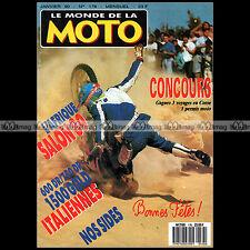 LE MONDE DE LA MOTO N°176 SUZUKI DR 750 HONDA GL 1500 GOLDWING ENFIELD BULLET