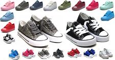 Nuevo lazada Low Top de jóvenes niños Niño Niña Lona Zapatos caminar confort 8 Colores