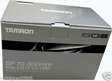 NEW TAMRON SP 70-300mm F/4-5.6 Di VC USD A005 (70-300 mm F/4-5.6) Canon*Offer