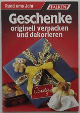 Geschenke originell verpacken und dekorieren
