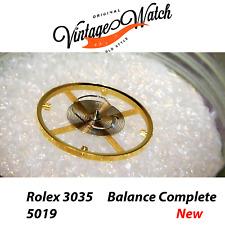 NEW Rolex 3035 5019 Balance Complete Bilancere 3055 3075 3085