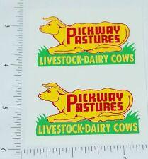 Wyandotte Pickway Pastures Truck Sticker Set     WY-030
