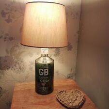 Williams GB Dry Gin Upcycled Bottle Table Lamp