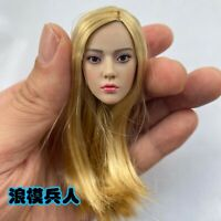 1/6 CAREER KILLER KIYOHA Blonde Hair Head Sculpt Fit 12'' action Figure Model