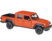 Welly 1:27 2020 Jeep Gladiator Pickup Orange Diecast Model Racing Car NEW BOXED