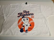 Foo Fighters Msg Nyc Pop Up Xl Xlarge Mr Mets Theme Tshirt 2018 Soldout Poster