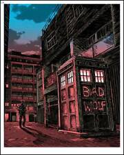 Timothy Doyle Magic Box Dr. Who Regular Ed. Poster TARDIS Bad Wolf Jon Pertwee