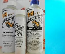 MOTORCYCLE color LAQUE Paint CANDY BLUE GREEN pb-2c-s HONDA Dax GL 1000 gl1