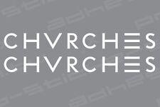 CHVRCHES Sticker Vinyl Decal