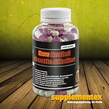 New Anabol Creatin Alkaline!120 Kaps. Kreatin Muskelmasse Kraft Anabolika Eiweis