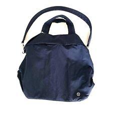 Lululemon On My Level Bag Duffel Tote 19L Navy Blue TRNV Gym Travel $128 NWT!