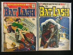 "DC COMICS BAT LASH VG-F #1-3,6,7 ""Fisherman Collection"""