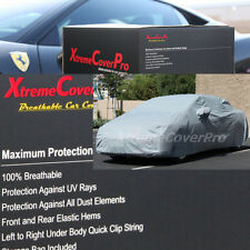 2015 MASERATI QUATTROPORTE S Q4 GTS Breathable Car Cover w/Mirror Pockets - Gray